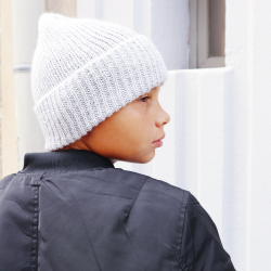 Rib hat knitting pattern -...