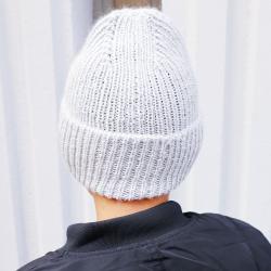 Patron bonnet au tricot - Albert