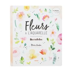 Livre - Fleurs à l'aquarelle