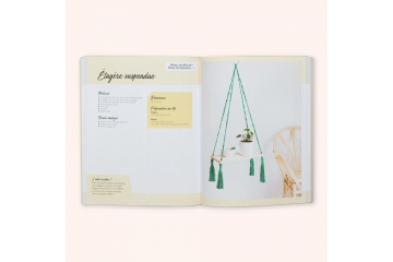 Livre - Macramé créations pour la maison