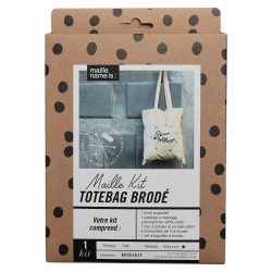 Kit de broderie - Totebag Rennes du fait maison
