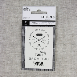 Tatouze éphémère - Wool is...