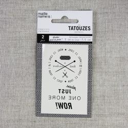 Temporary knit tattoo -...