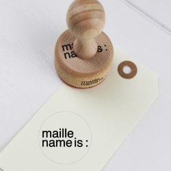 Retro office stamp - Maille...