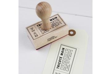 Tampon rétro - Tricoté main