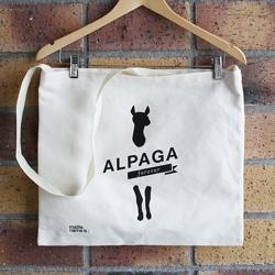 Sac totebag - Alpaga forever