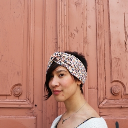 Summer headband in sewing