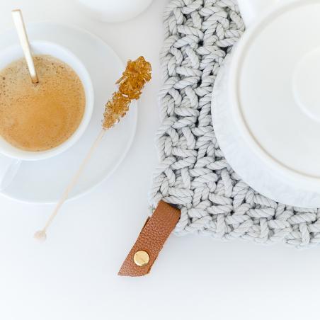 Ready-to-create crochet trivet kit - Bazaar