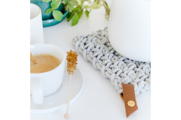Ready-to-create crochet trivet kit - Bazaar