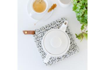 Kit prêt-à-créer sous-plat en crochet - Bazaar