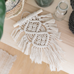 Ready-to-create macramé wall hanging kit - Oasis