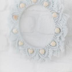 Kit prêt-à-créer couronne en macramé - Baan