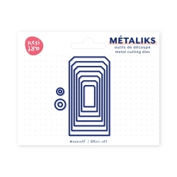 Metaliks cutting tools - Assorted tags