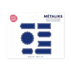 Metaliks cutting tools - Sewn labels