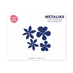 Dies métaliks - Fleurs exotiques
