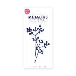 Metaliks cutting die - Mistletoe