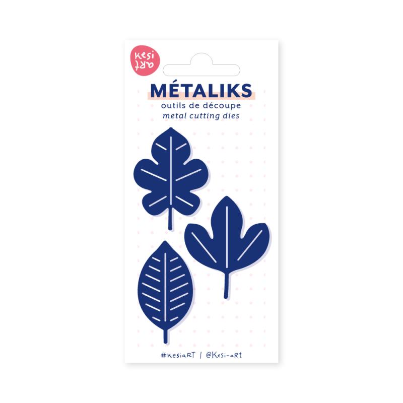 Dies métaliks - Feuille de papier