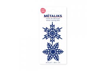 Dies métaliks - Flocons