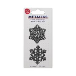 Dies métaliks - Snowflakes