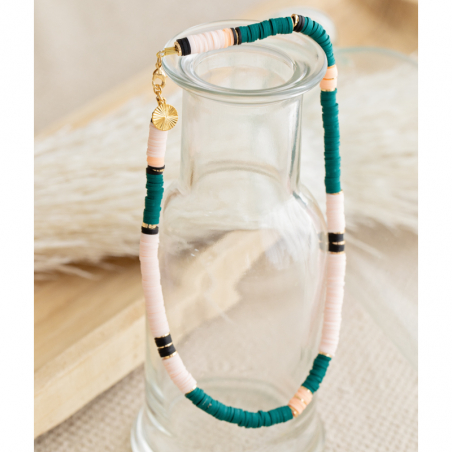 Kit collier or turquoise et...