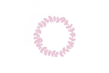 Dies métaliks - Couronne fleurie