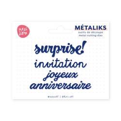 Dies métaliks - Invitation