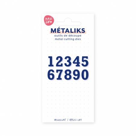 Dies métaliks - 12345