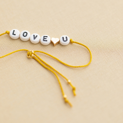 Kit bracelet alpha - Love u