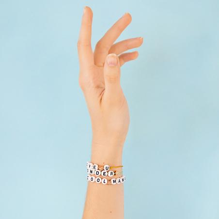 Kit bijou - Bracelet alpha...
