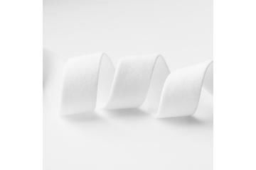 Ceinture élastique plat blanc 20 mm
