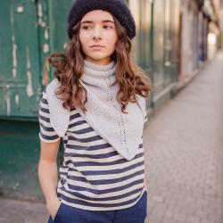 Kit bandana en tricot -...