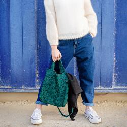 Kit sac besace en couture -...