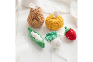 Crochet Fruit And Vegetable Patterns All The Best Ideas | 240x360