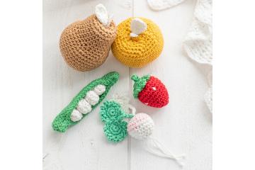 Crochet Knit Vegetables, Fruit Kitchen Decor Christmas Gift ... | 240x360