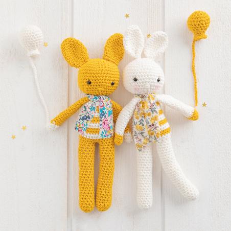 Art 19-09 lapin Cross Stitch Kit viens avec moi