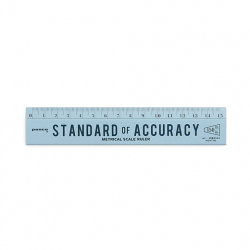 Wooden ruler 15 cm mint -...
