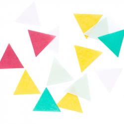 Triangle confettis - Hooray