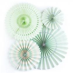 4 fanions décoratifs - Mint