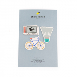 Adhesive patches - Bicycle