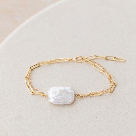 Freshwater pearl bracelet...