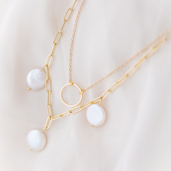 Freshwater pearl necklace...