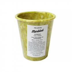 Pot à crayons marbré - Vert...
