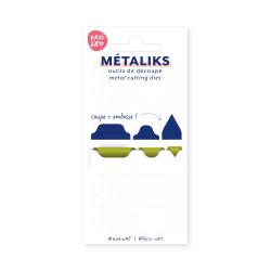 Dies métaliks - Onglettes