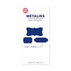 Dies métaliks - Etiquettes