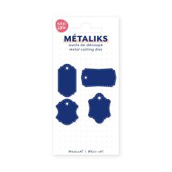 Dies métaliks - Etiquettes...