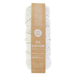 Fil coton recyclé 4 mm