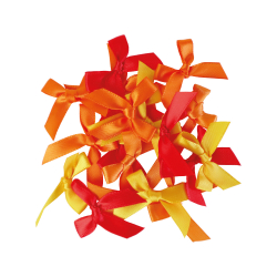 Set of 20 ribbon knots -...