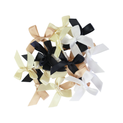 Set of 20 ribbon knots - Coal