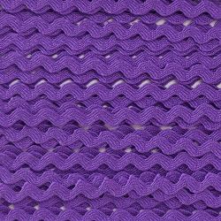 Zigzag ribbon 4mm - Purple...