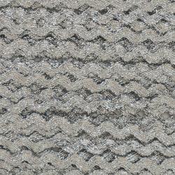 Ruban zigzag 4 mm - Argenté...